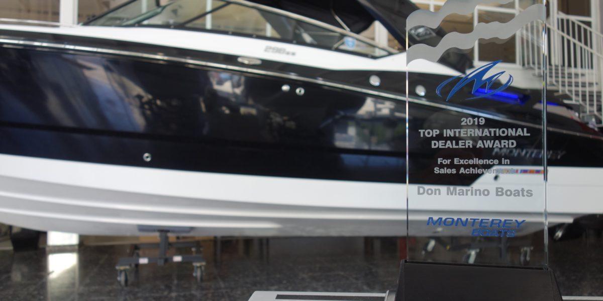 Don Marino Boats vuelve a ser #1 internacional en ventas de Monterey Boats