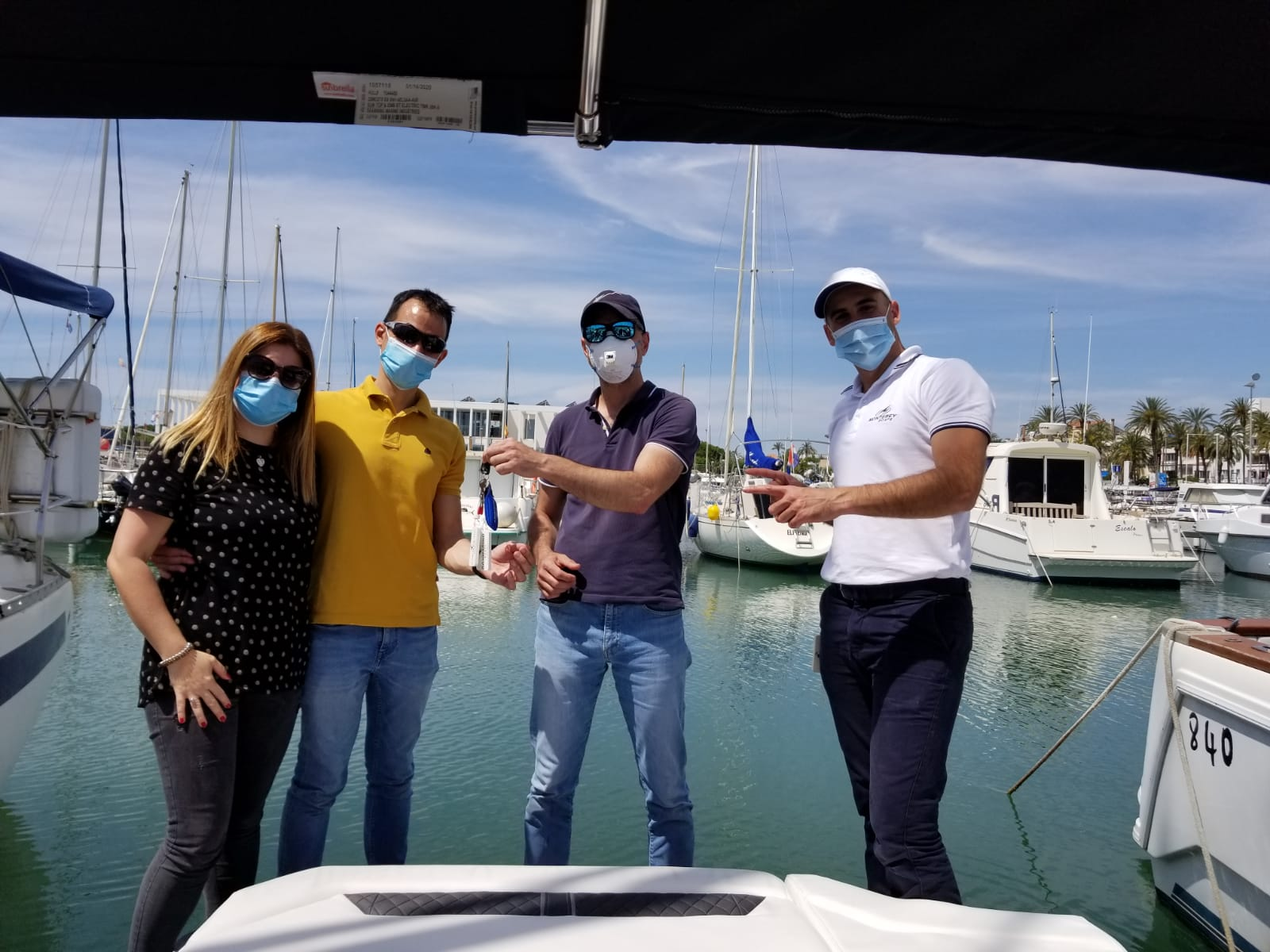 Don Marino Boats entrega un nuevo Monterey 238 Super Sport