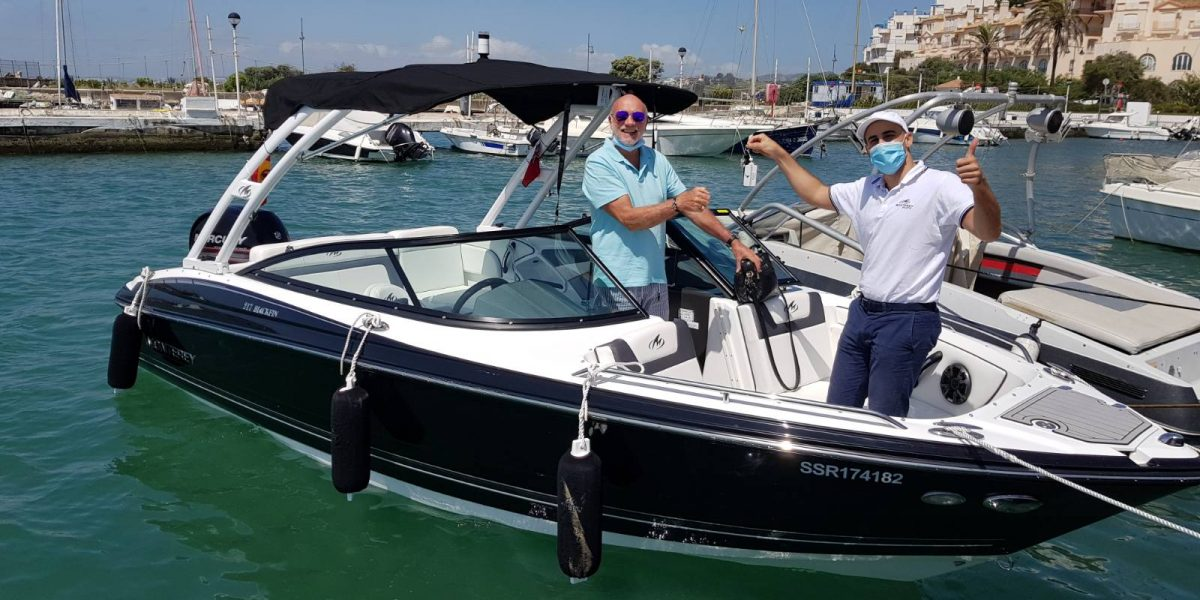 Don Marino Boats entrega un nuevo Monterey M225