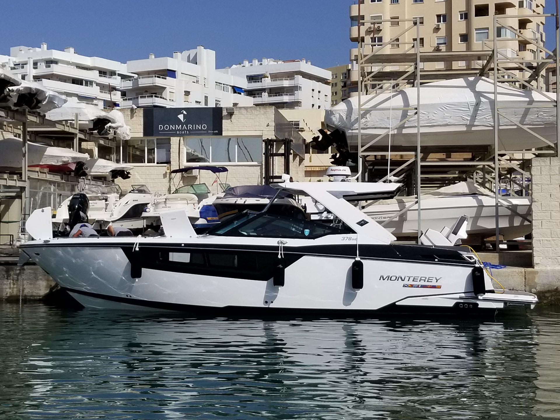 Vendido Monterey 378 SE - Don Marino Boats