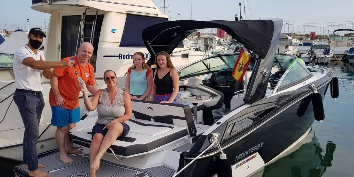 Monterey 278 ss entregada / delivered Don Marino Boats