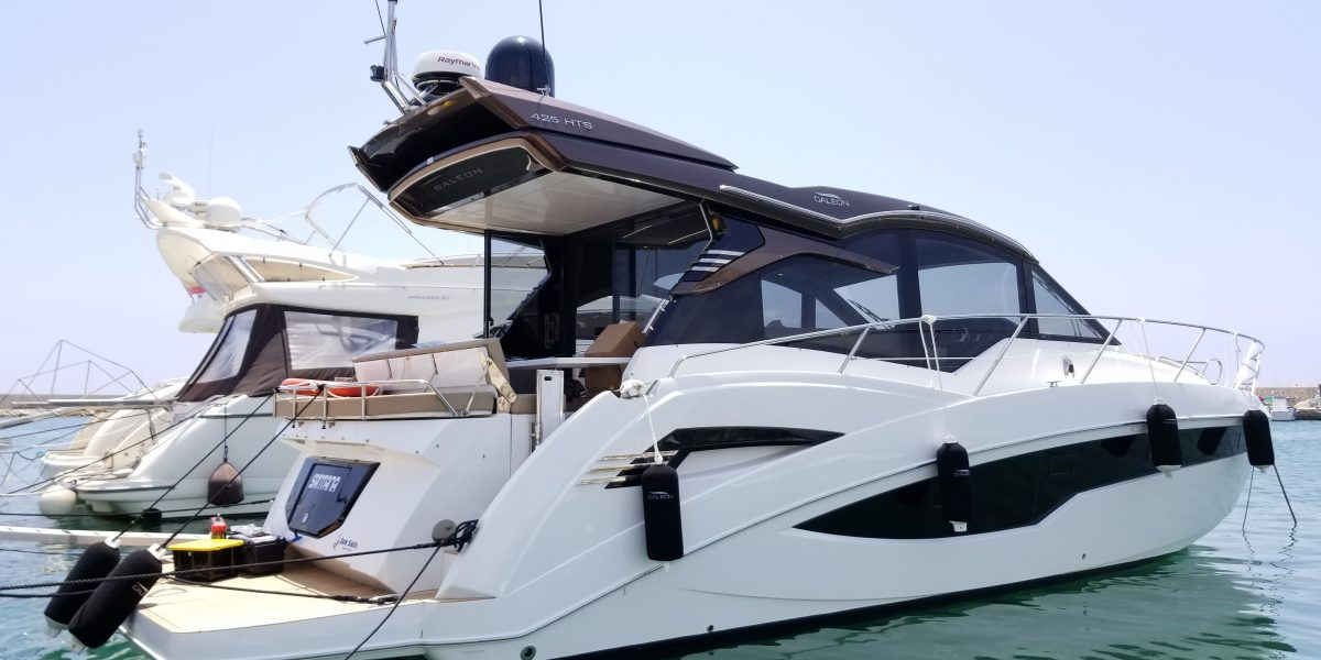 Galeon 425 HTS - Don Marino Boats