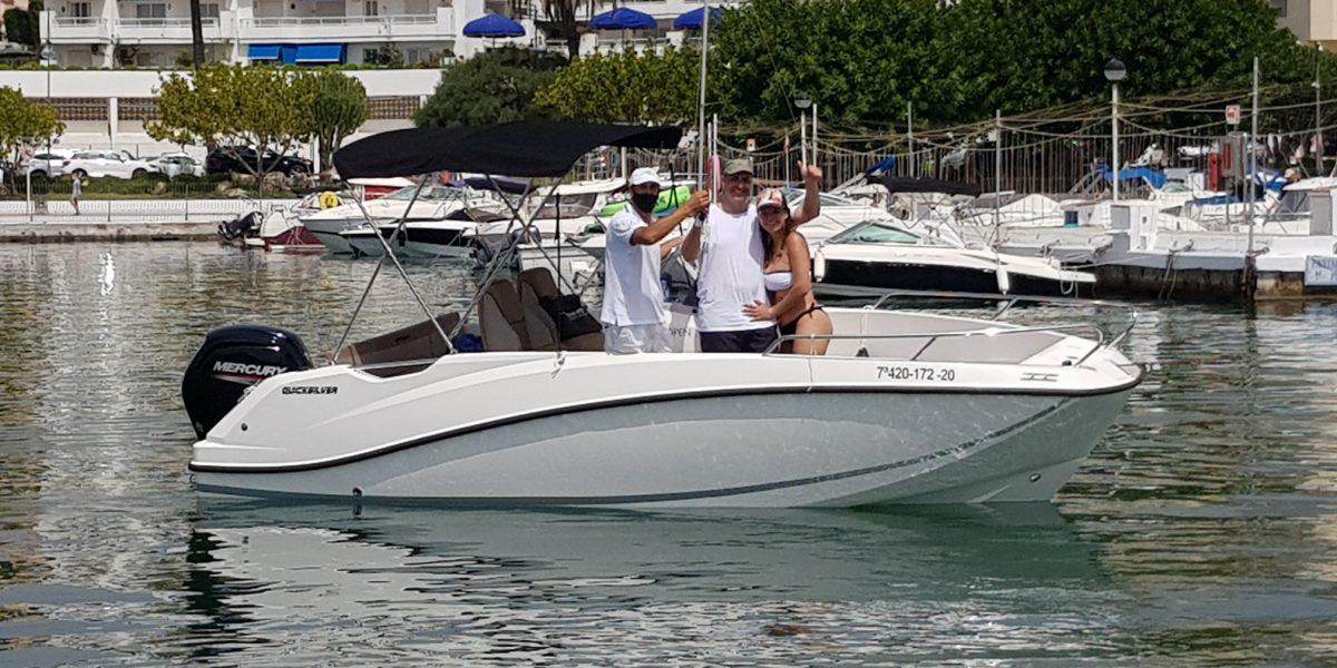 Quicksilver 555 Open - Don Marino Boats
