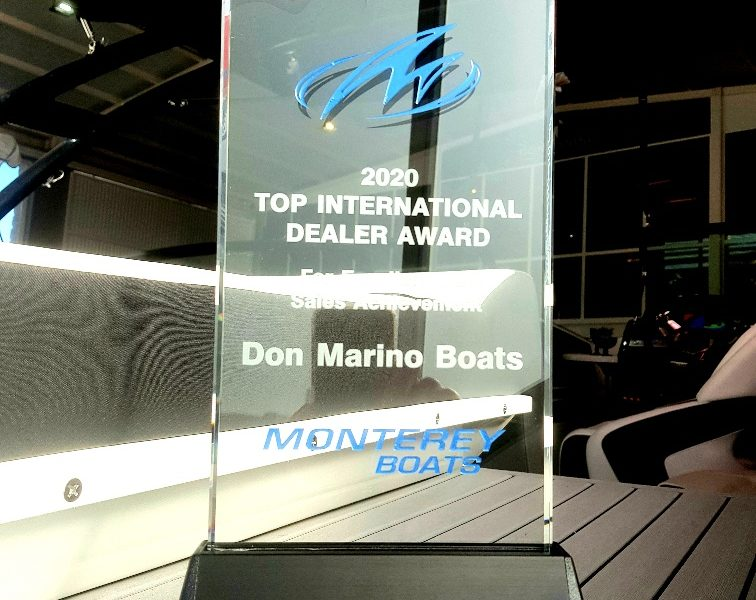 Don Marino Boats - #1 Internacional en ventas Monterey Boats