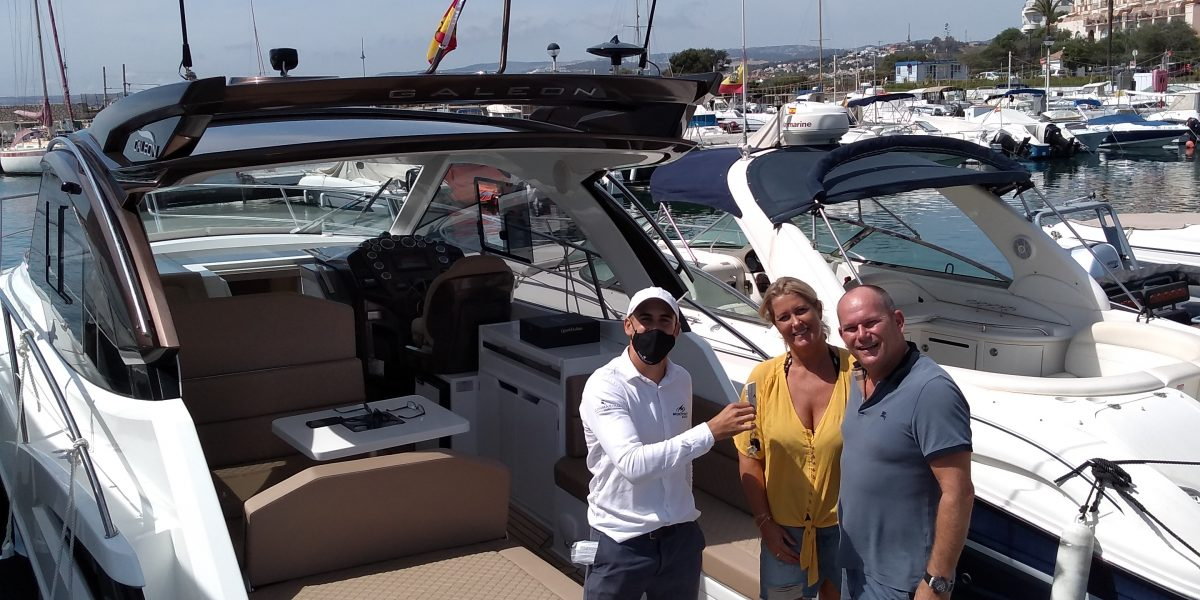 Galeon 335 HTS vendido - Don Marino Boats